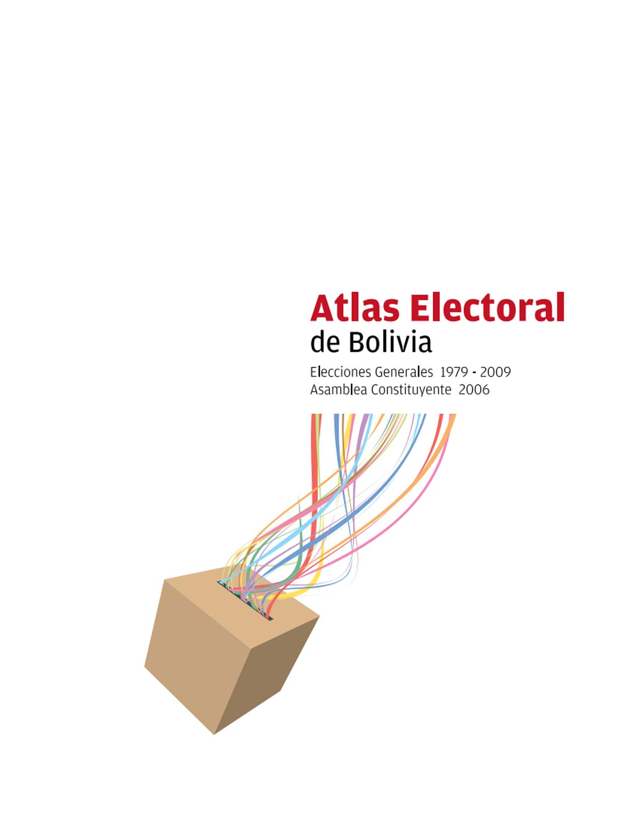 Atlas Electoral de Bolivia 1979-2009