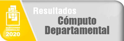 Resultados Computo Departamental - Elecciones Generales 2020