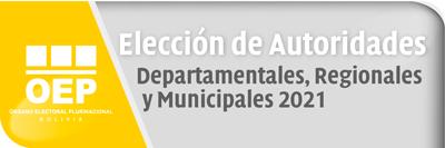 Elecciones Subnacionales 2021