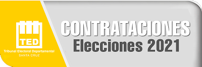 Contrataciones Elecciones 2021